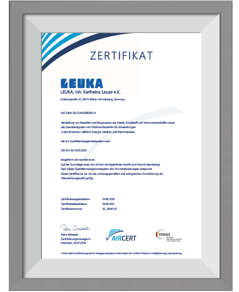 LEUKA-Zertifikat-ISO9001-deutsch